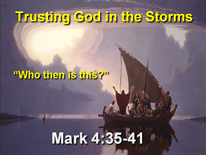 Trusting God In The Storms